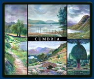 Mouse mat of the Lake District and Cumbria