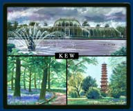 Mouse mat of Kew Gardens